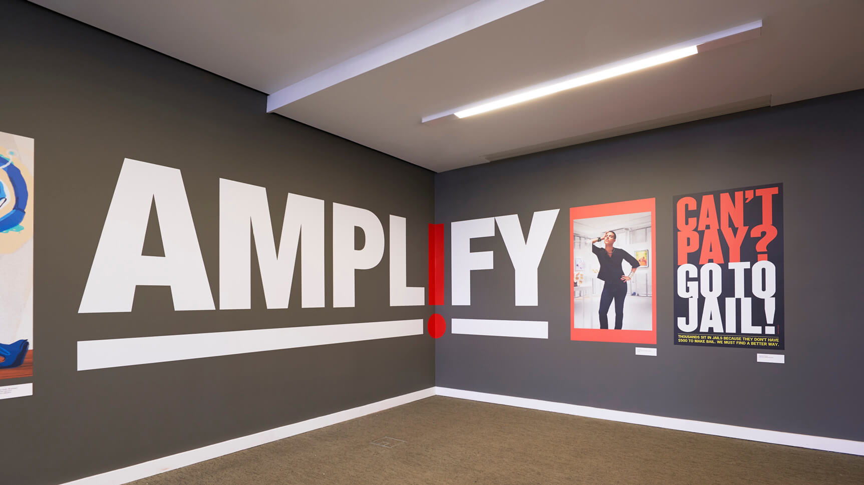exhibition featuring amplify