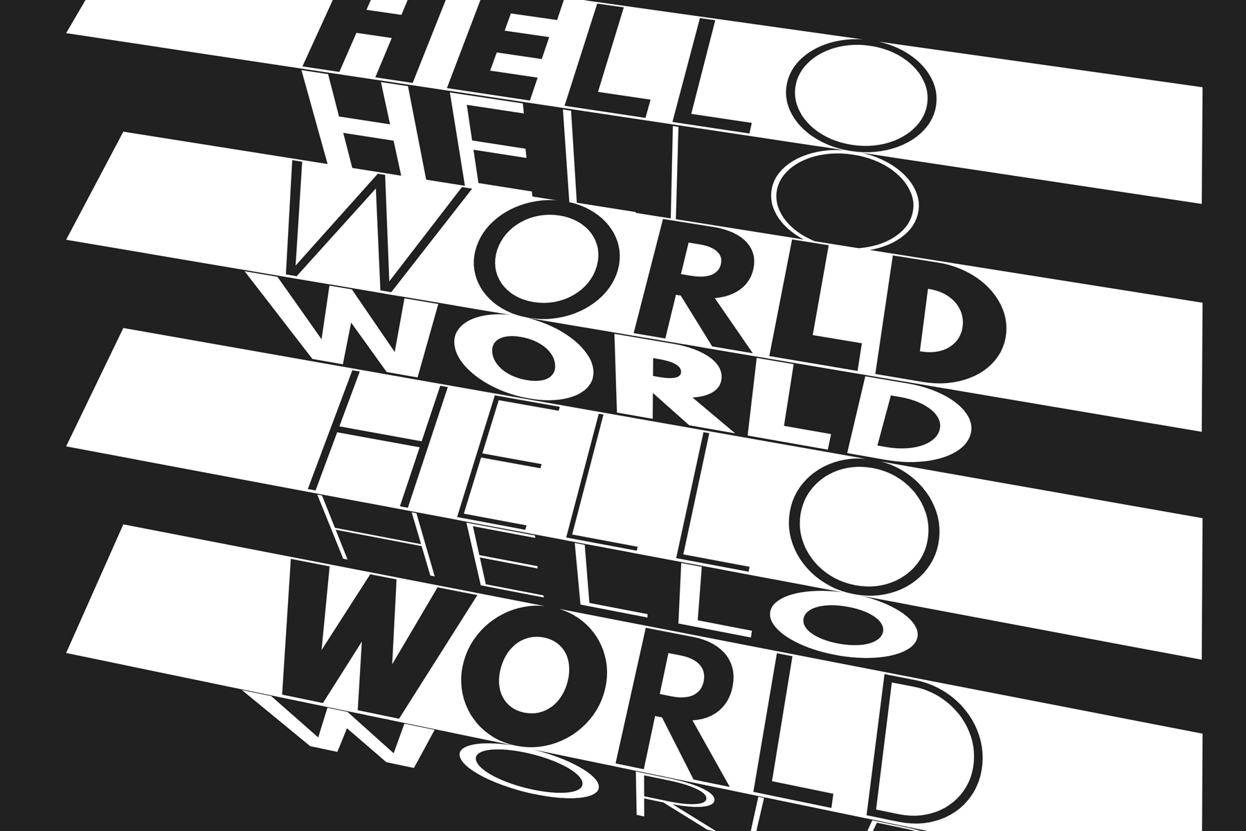 a lot of hello worlds