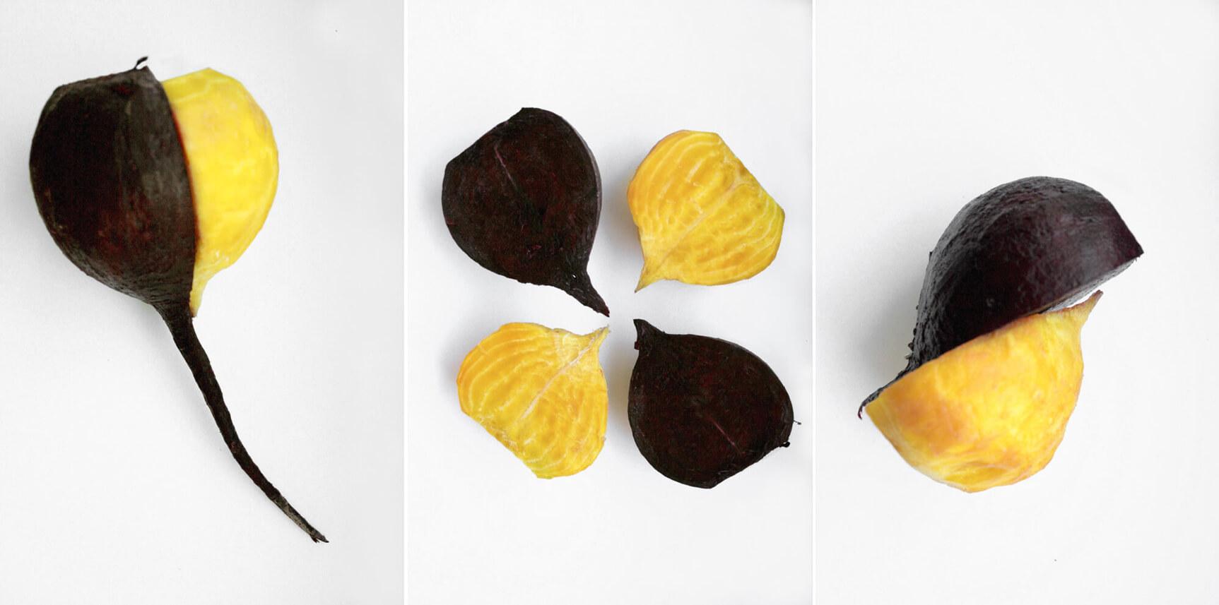 a beet triptych