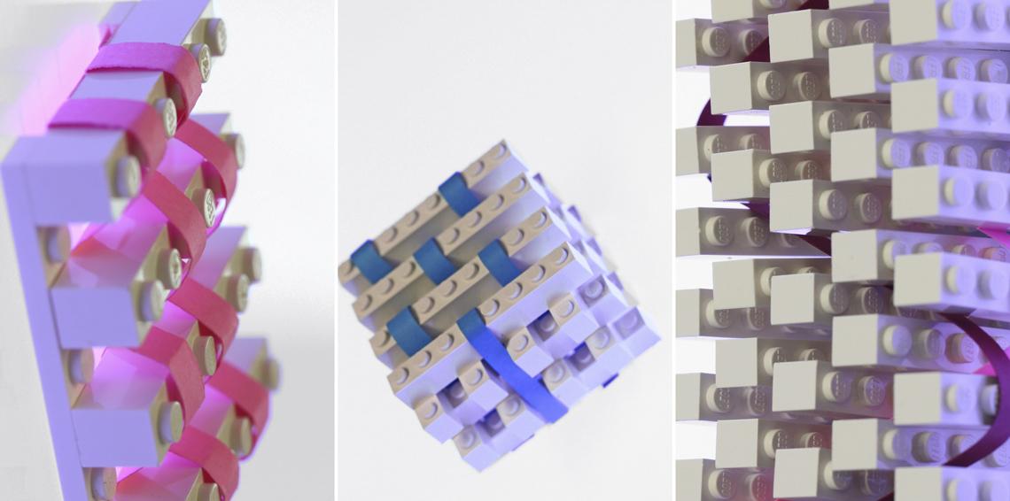 LEGO textile prototypes