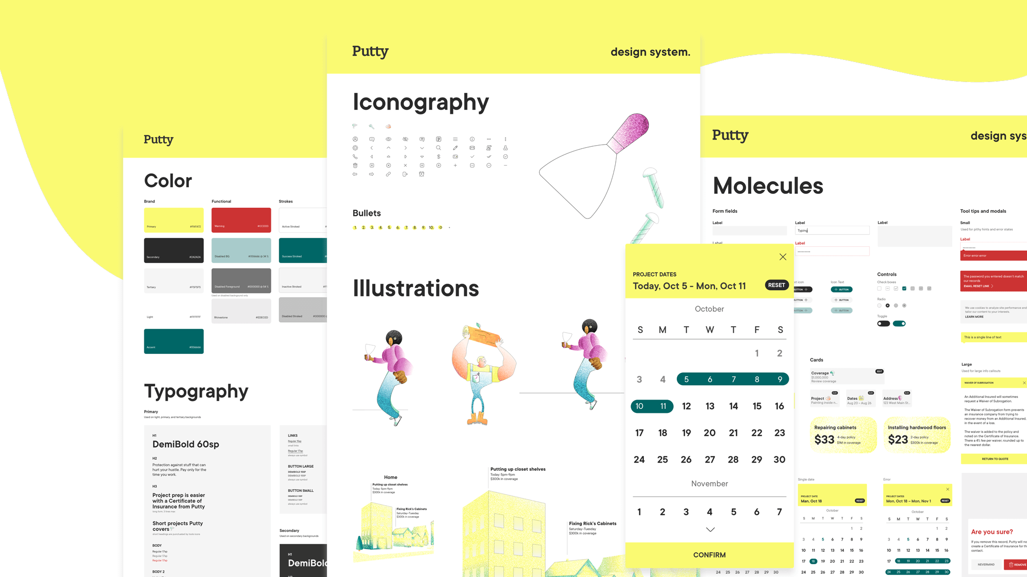 atomic design library components